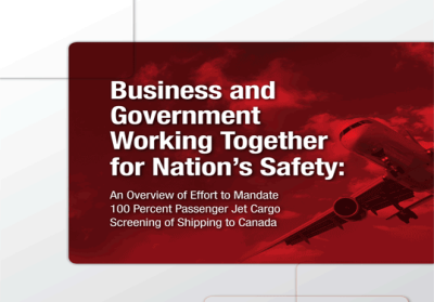 business and government working together for nation's safety