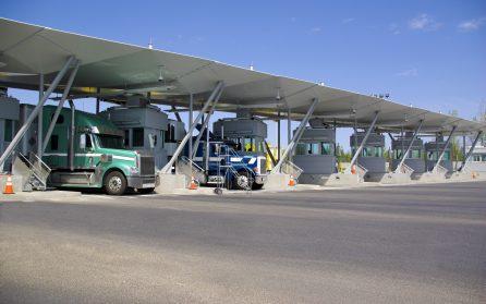 shipping across border checkpoint