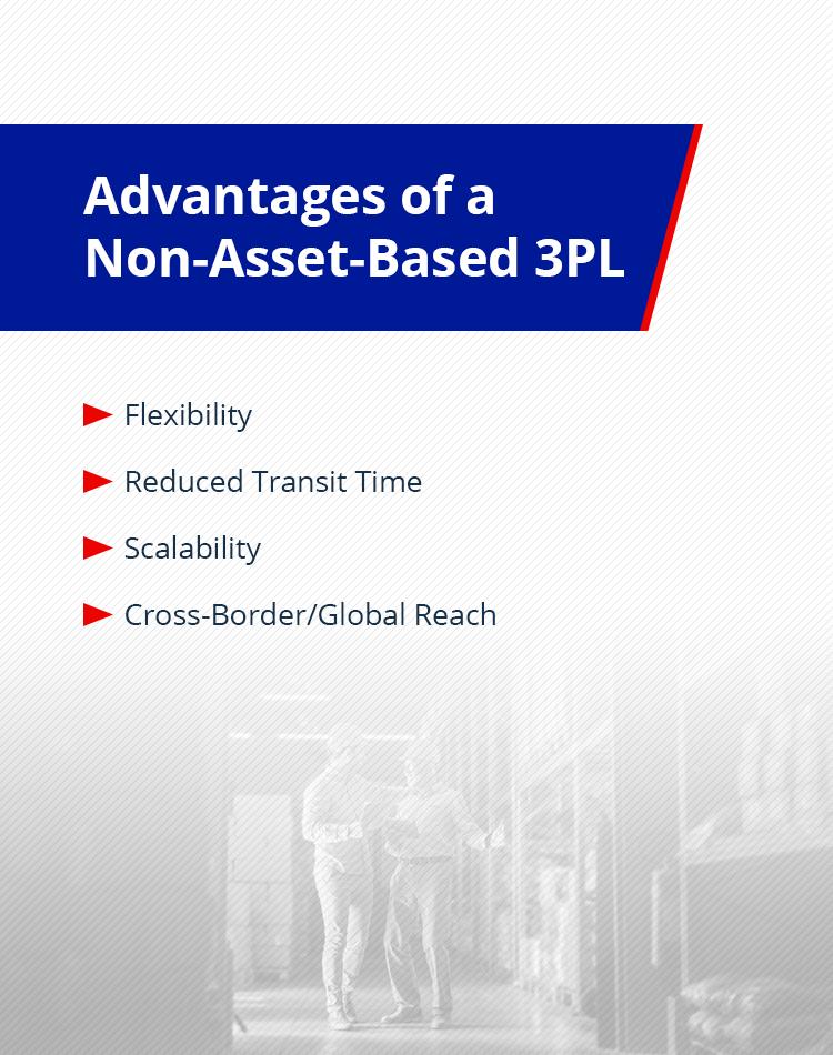advantages of a non-asset-based 3PL