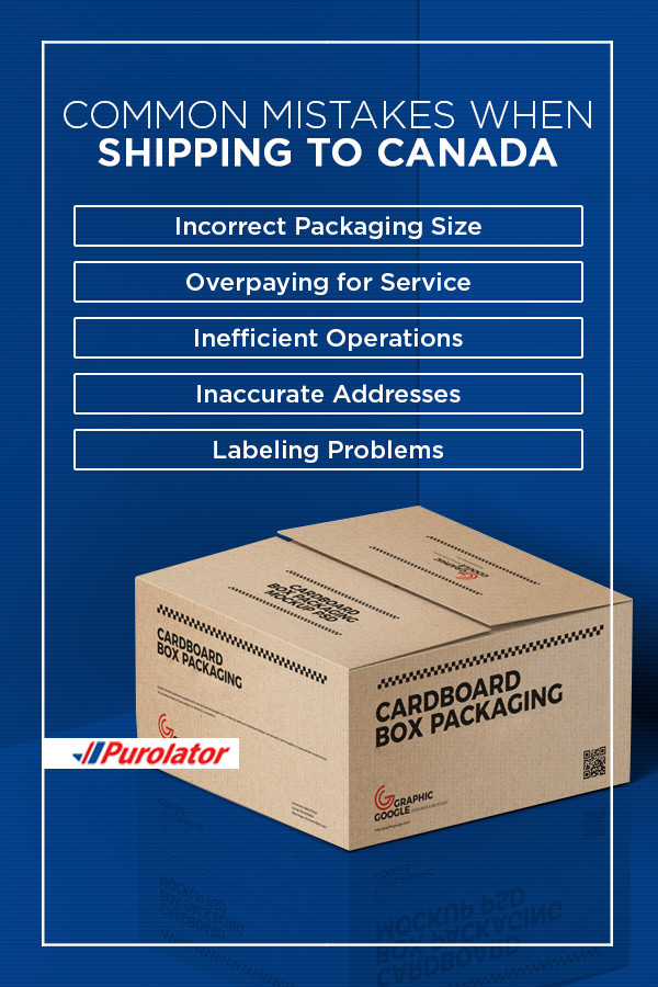 Common mistakes when shipping to Canada