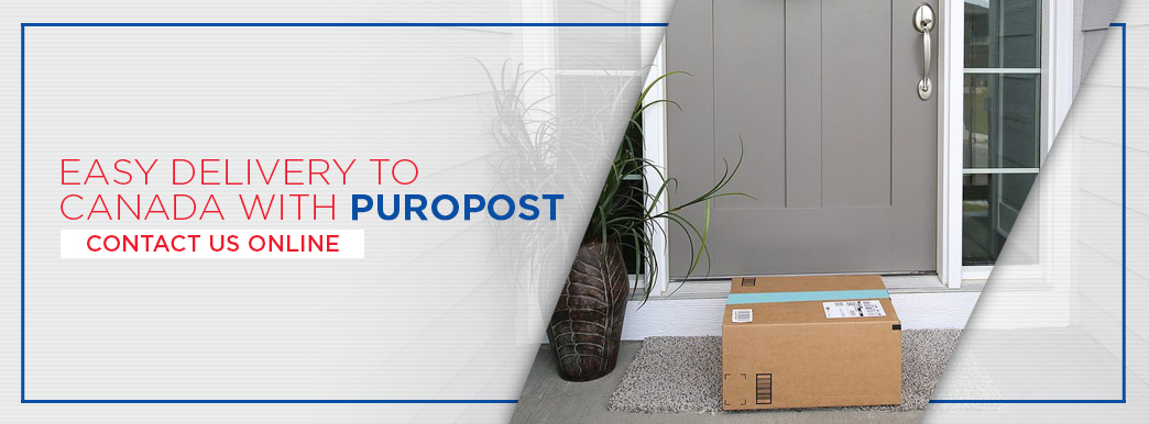 Easy delivery to Canada with PuroPost