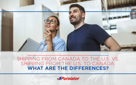 Shipping to Canada from the US vs Shipping to the US from Canada