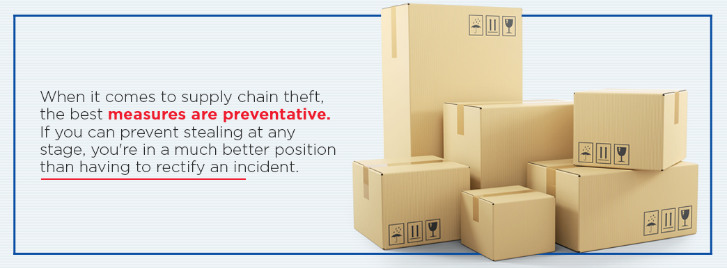 When it comes to supply chain theft, the best measures are preventative