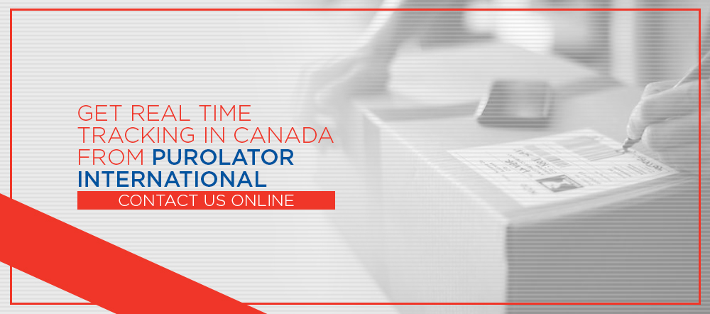 Get Real Time Tracking in Canada From Purolator International
