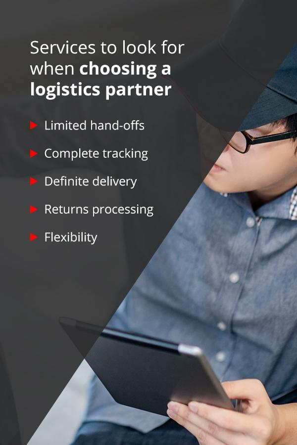 Working With a Logistics Partner