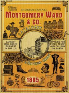 Montgomery Ward and co. 1895 catalog cover