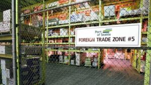 Foreign trade zone #5 Port of Seattle