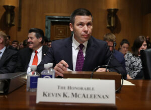 U.S. Customs and Border Protection Commissioner Kevin K. McAleenan
