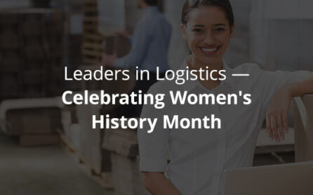 Leaders in logistics - celebrating Women's History Month