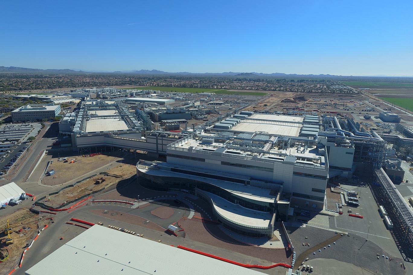 New Intel factory, Fab 42, in Chandler, Arizona