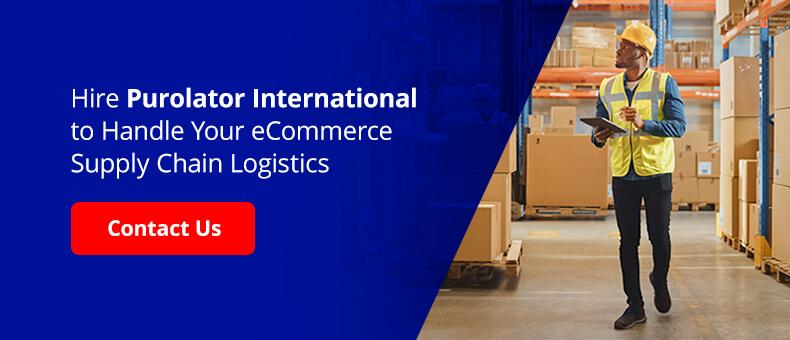 Hire Purolator International to Handle Your eCommerce Supply Chain Logistics