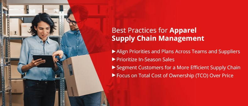 Best Practices for Apparel Supply Chain Management