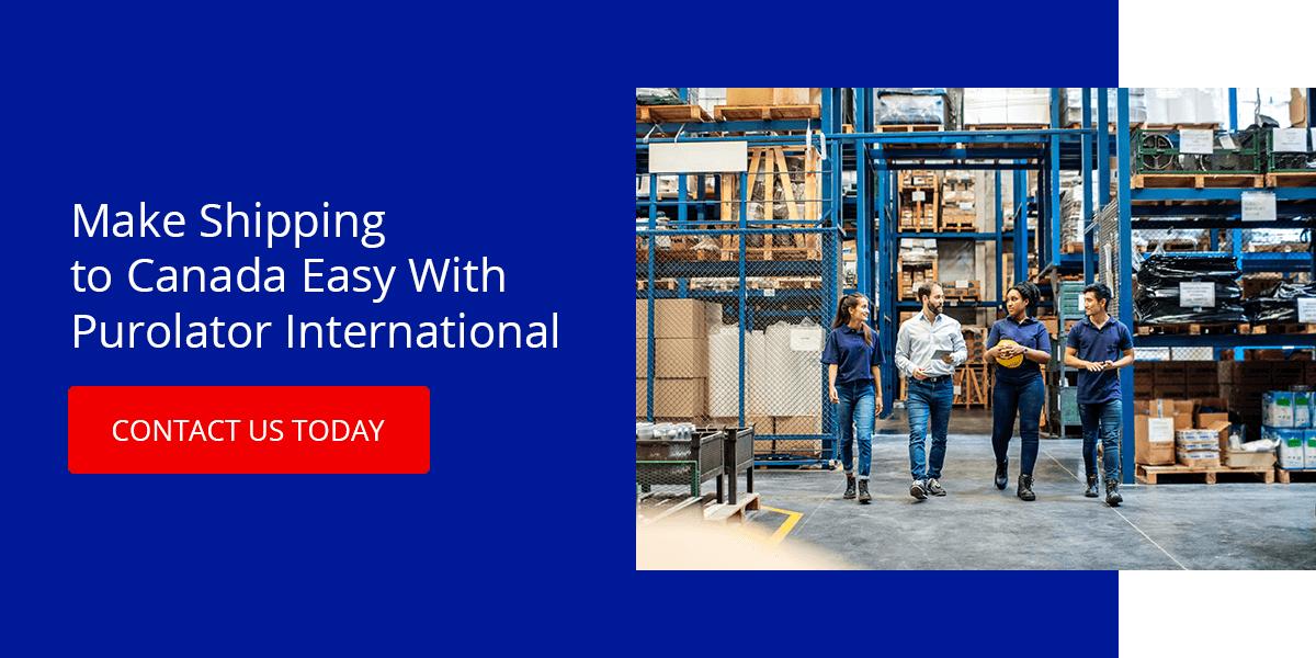 Make Shipping to Canada Easy With Purolator International