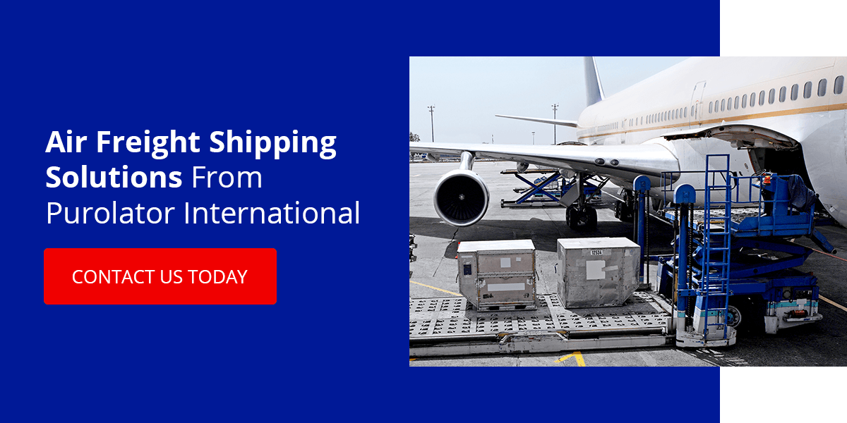 Air Freight Shipping Solutions From Purolator International